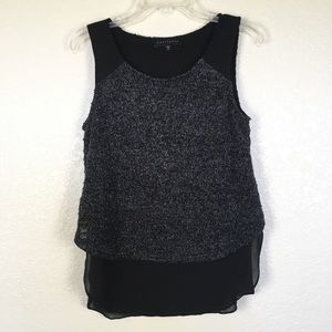Sanctuary Layered Sweater Tank